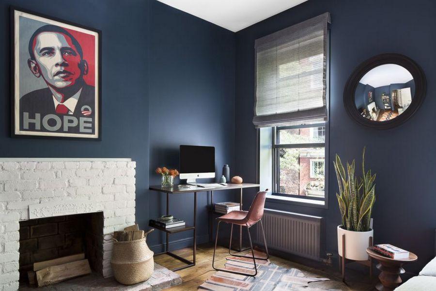 Дизайн-проект домашнего кабинета