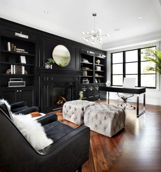 Ремонт кабинета в частном доме