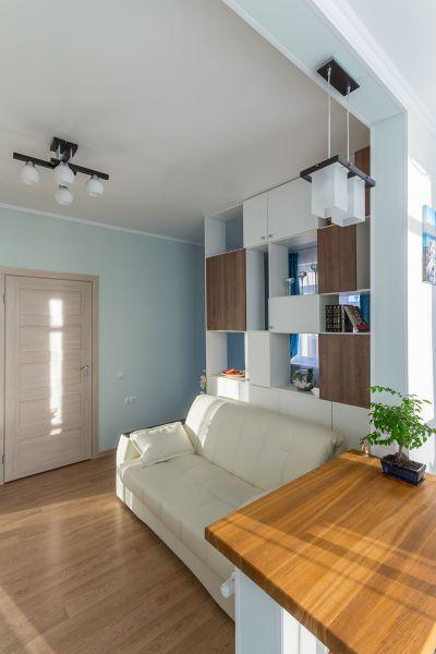 Изменение ракурса комнаты при съемке