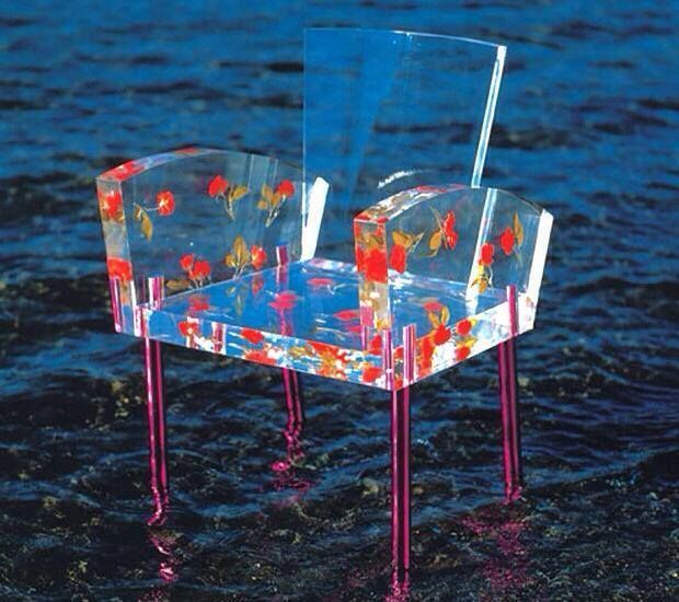 Дизайнерское кресло Shiro Kuramata