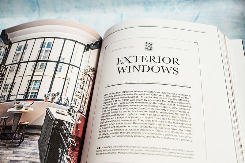 Раздел книги об окнах в интерьере