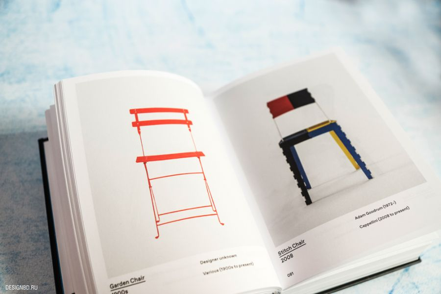 Книга по истории дизайна стула