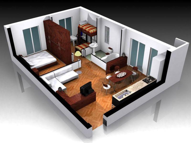 дизайн-проект в  3D визуализации