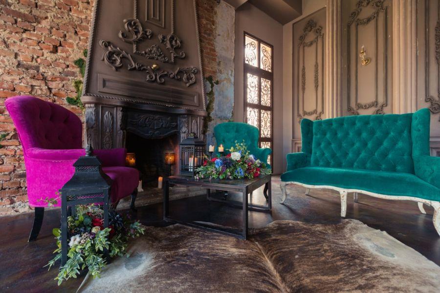 Дизайн интерьера с ковром