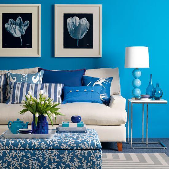 Выбор цвета для комнаты в зависимости от стороны света