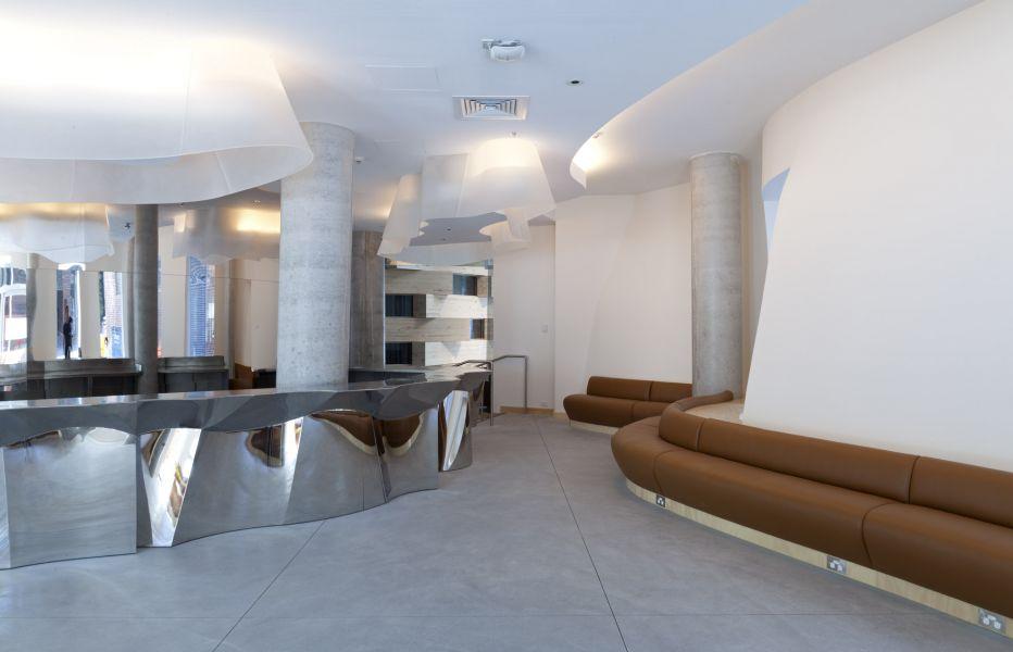 Отделка помещения в стиле постмодерн