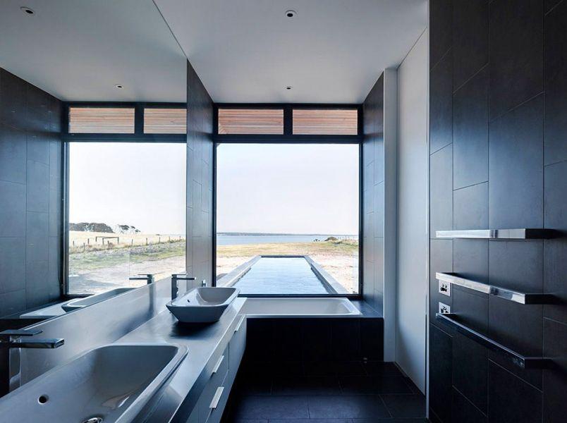Дизайн интерьера санузла в стиле конструктивизм