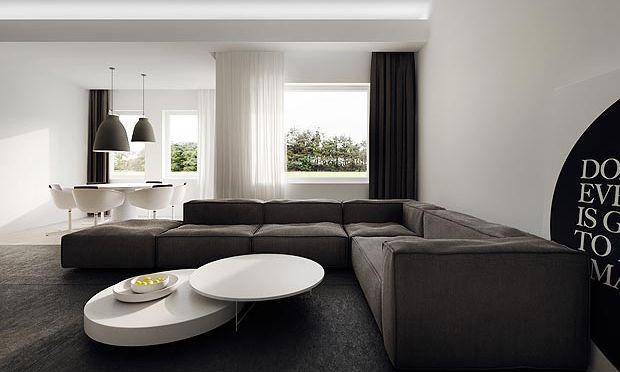 Оформление дома в стиле минимализм
