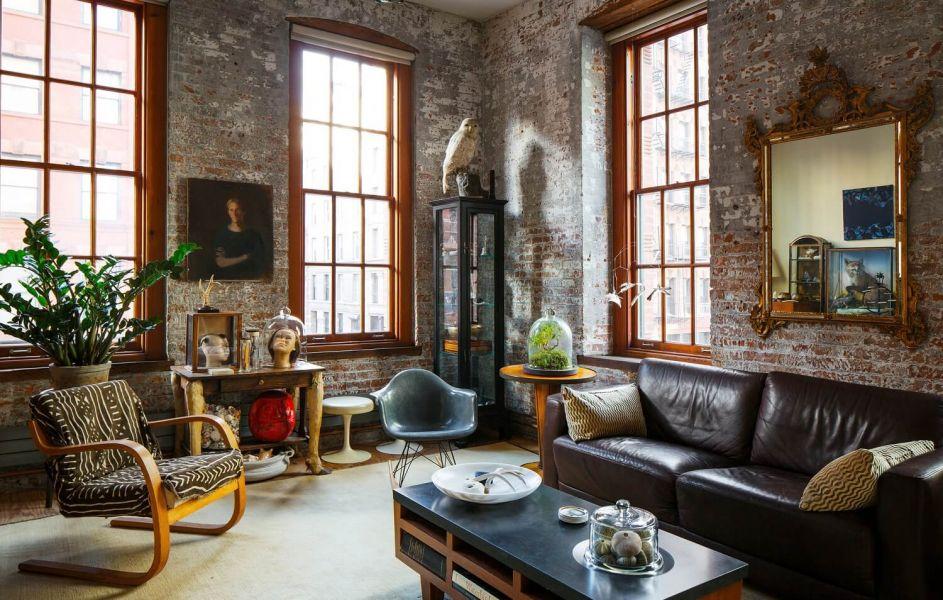 Мебель для интерьера в стиле лофт