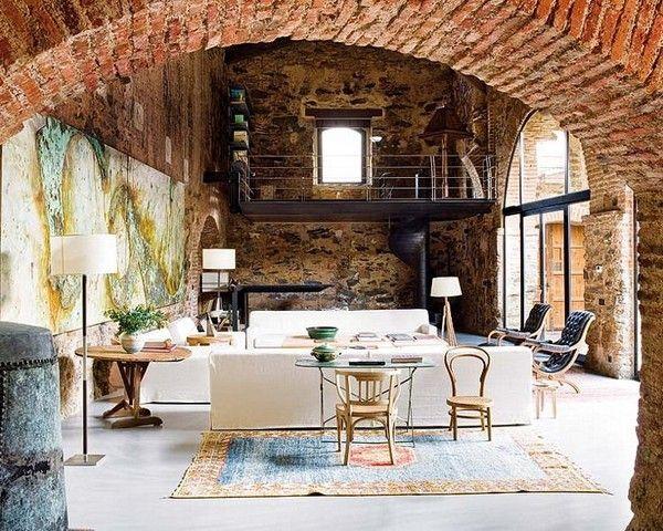 Декорирование loft квартиры