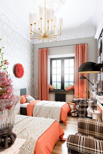 Дизайн спальни от студии «MSarkisyan&Architects»