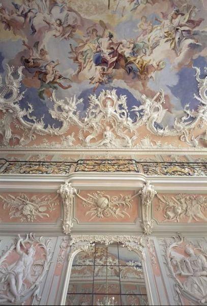 Роспись в стиле рококо