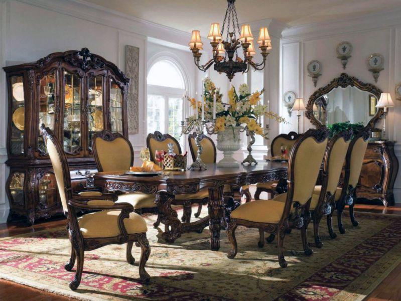Столовая комната в стиле рококо