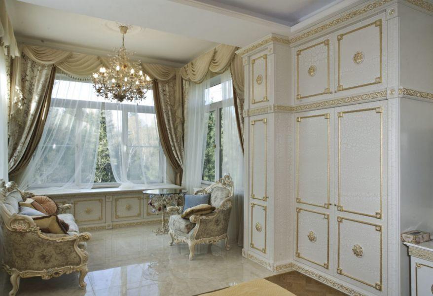 Оформление комнаты в стиле рококо