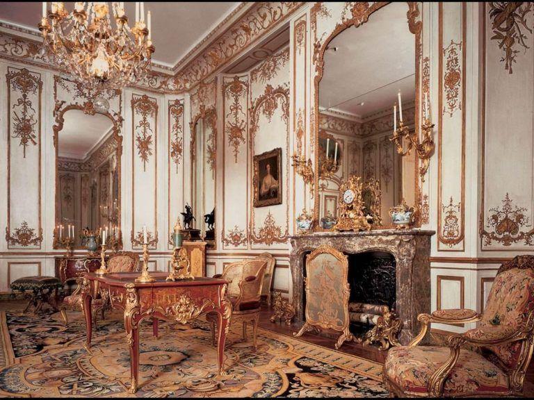 Оформление интерьера в стиле рококо