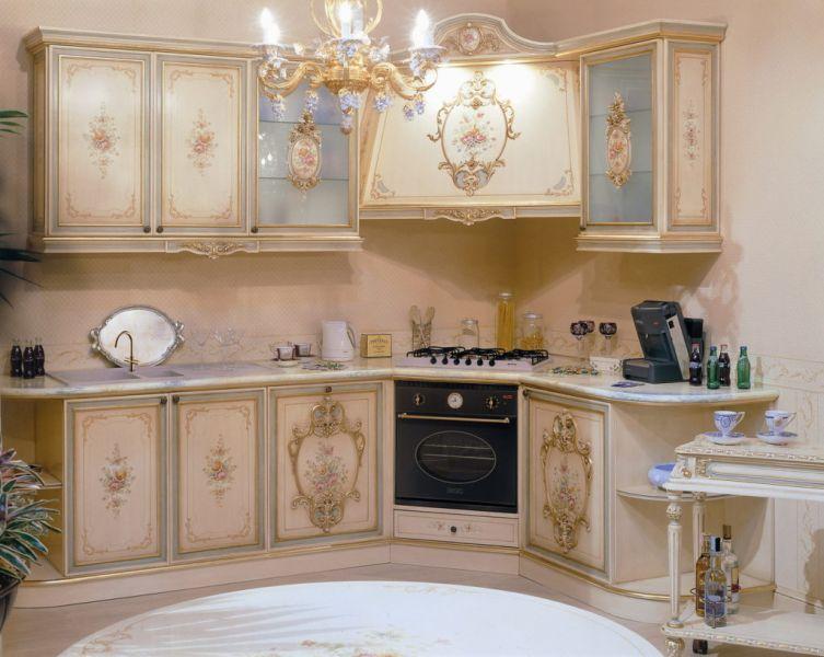 Кухня в стиле рококо