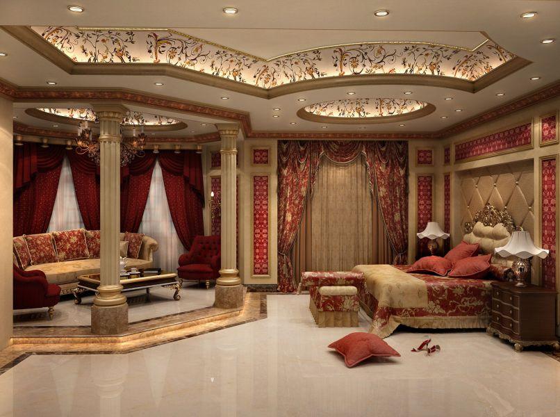 Интерьер квартиры в стиле ампир