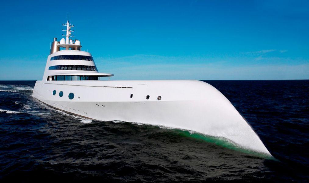 Яхта «А»