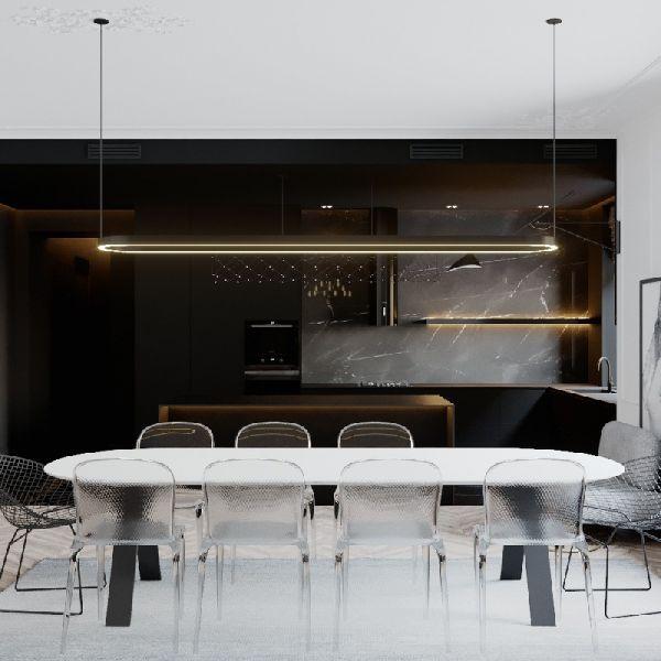 Какого размера должен быть обеденный стол