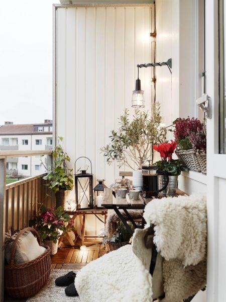 Как оформить небольшой балкон