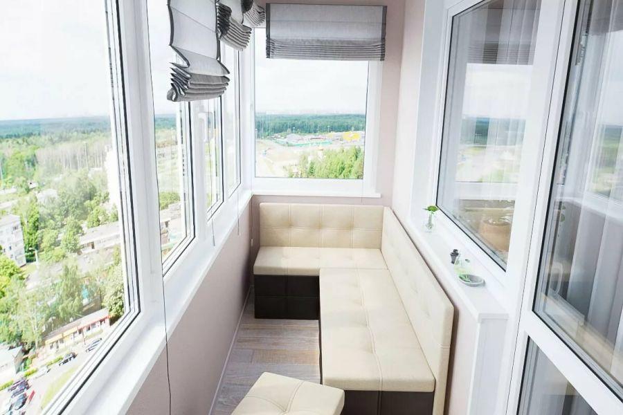 Выбор стиля и цвета для оформления с балконом
