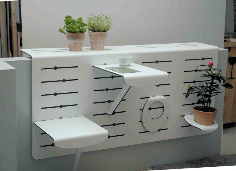 Мебель на маленьком балконе