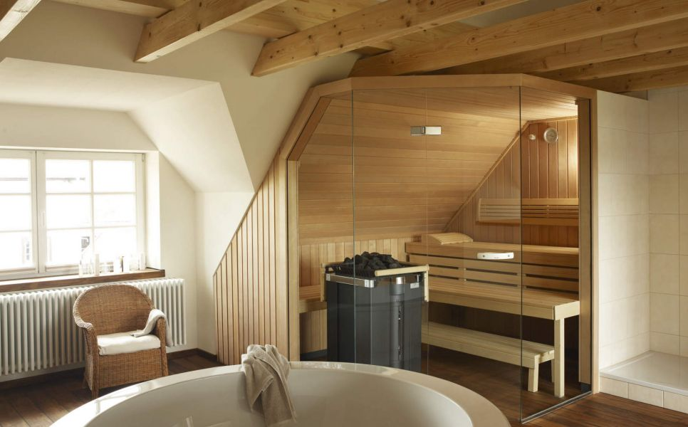 баня в скандинавском стиле