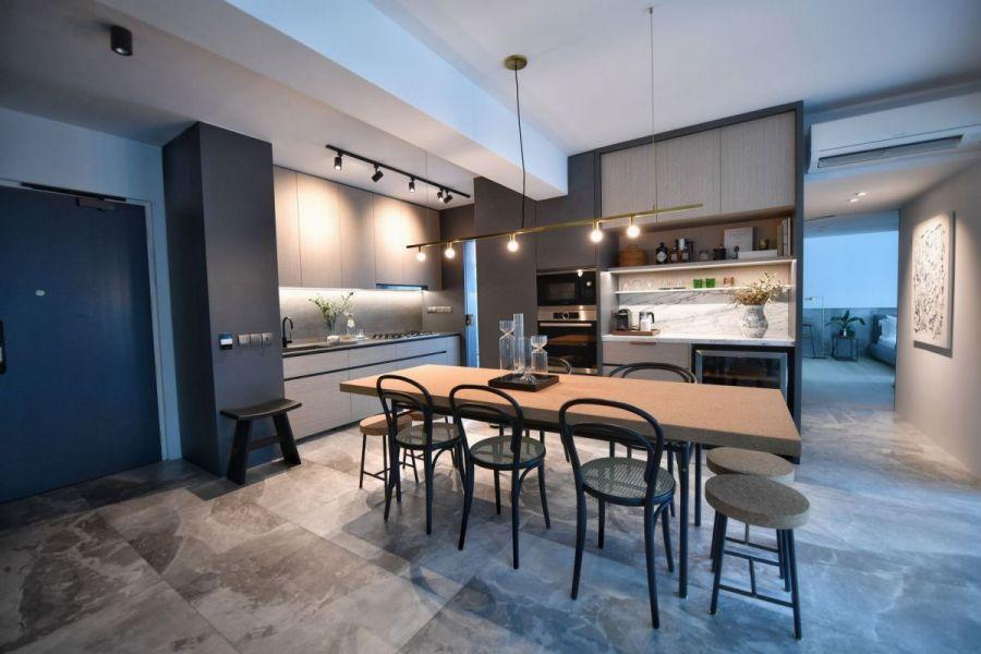 Стиль минимализм в дизайне интерьера гостиной