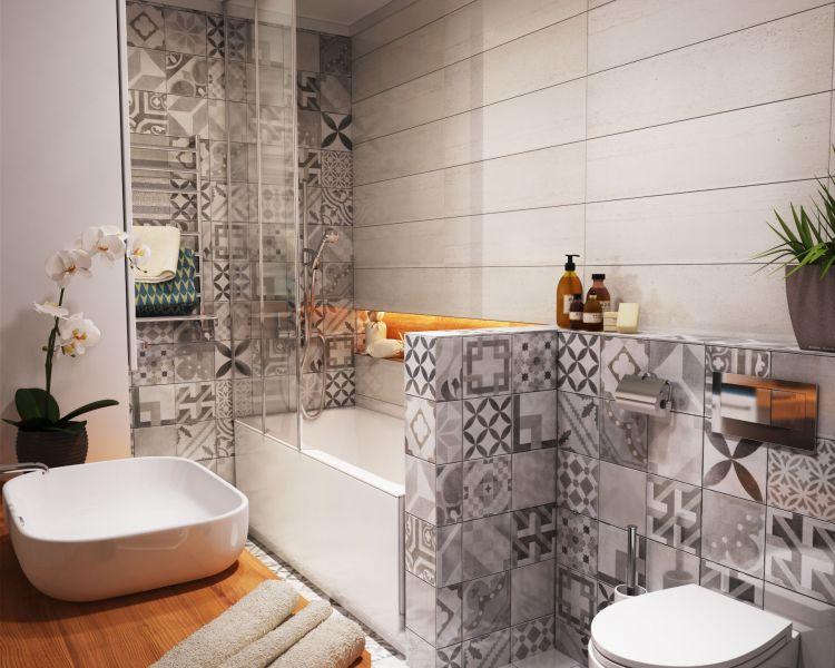 Дизайн санузла в маленькой квартире