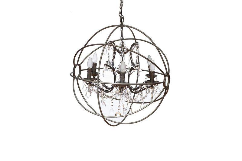 Светильник подвесной 15-D6002-6