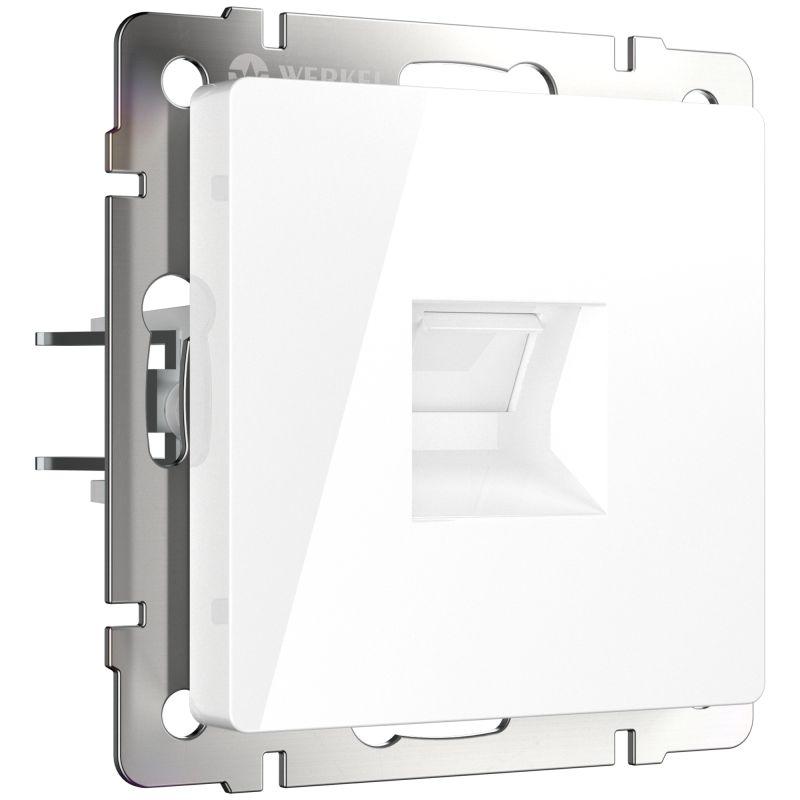 Розетка Ethernet RJ-45 Werkel (белая) W1181001