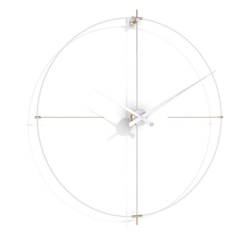 Настенные часы Bilbao L white/white BIL000BB