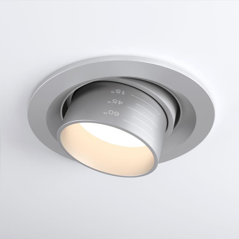 Встраиваемый светодиодный светильник Elektrostandard  9921 LED 15W 4200K серебро