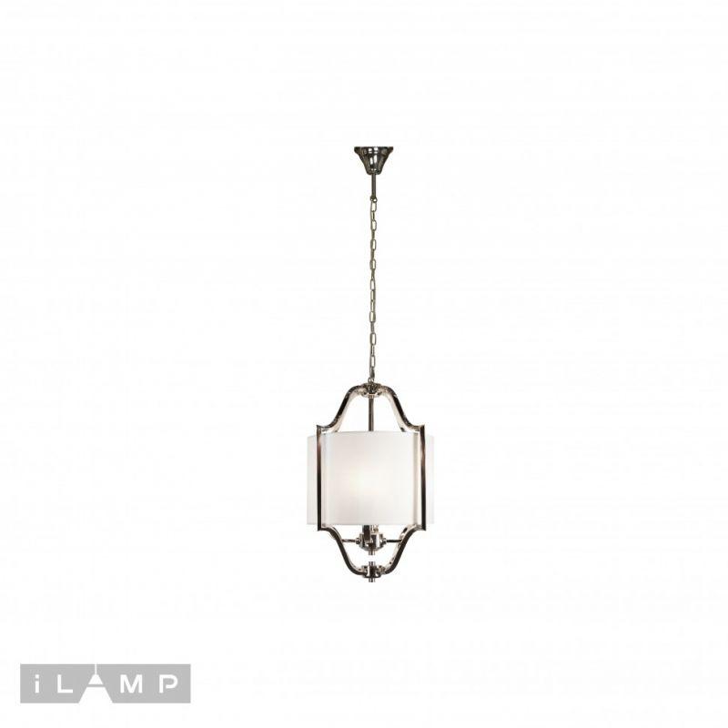 Подвесная люстра iLAMP Divole P2442-4 Nickel