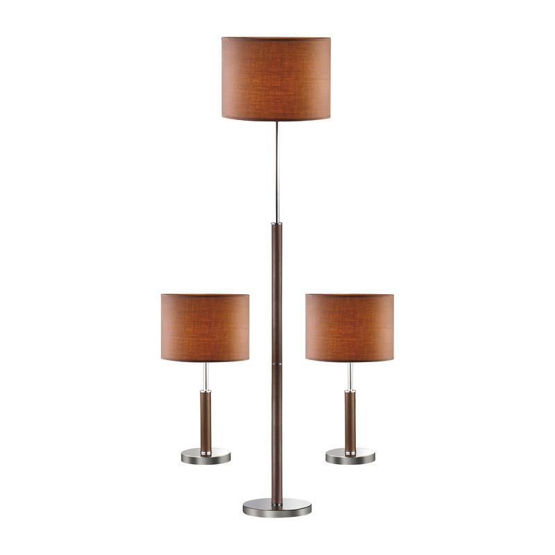 Торшер и две настольные лампы Super-set 1427-SET