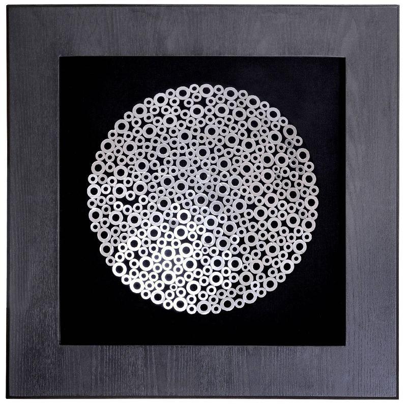 Панно Металлические кольца 19472