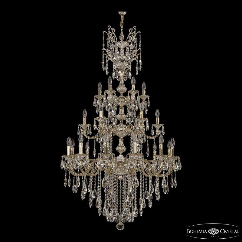 Люстра Bohemia Ivele Crystal Verona 72101/12+6+6/300/XL/3d B GW
