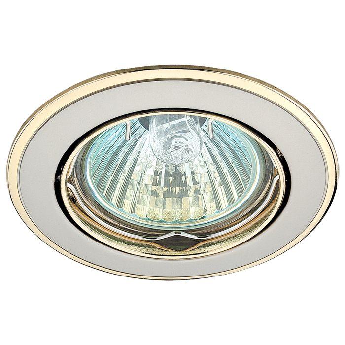 Точечный встраиваемый светильник NovoTech crown 369105