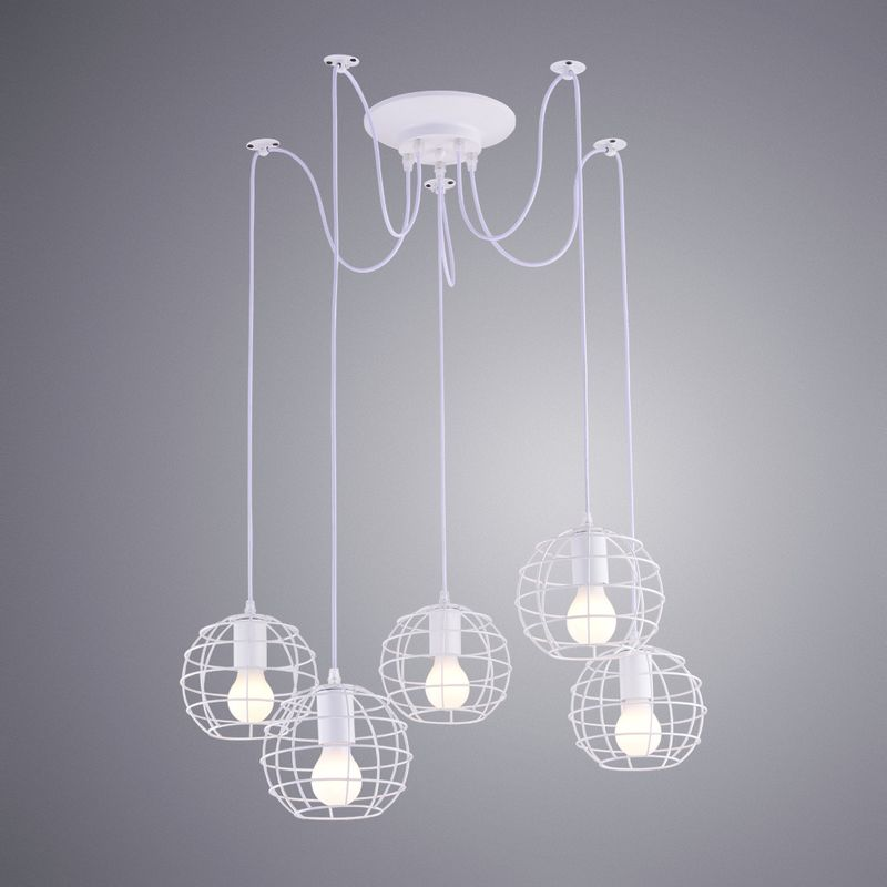 Светильник подвесной Arte Lamp A1110 A1110SP-5WH