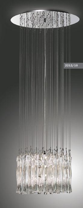 Люстра потолочная Odeon Light Komo 2212/10