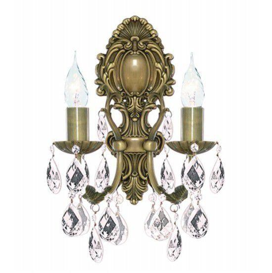 Светильник настенный Arte Lamp Decorative classic bj A6842AP-2AB