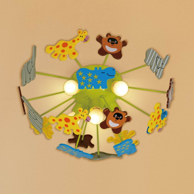 Люстра детская Зоопарк CL602151