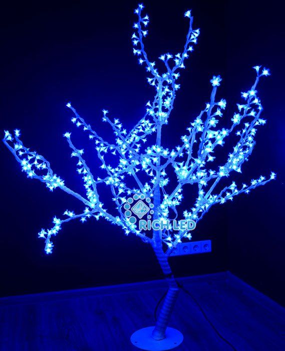 Светодиодное дерево Сакура 150 RL-TRC24-150*130-480-W/B