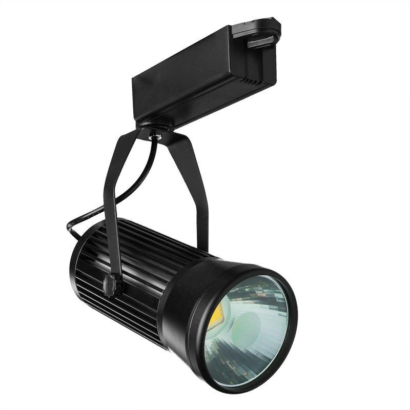 Трековый светильник поворотный Arte Lamp Track lights c A6330PL-1BK