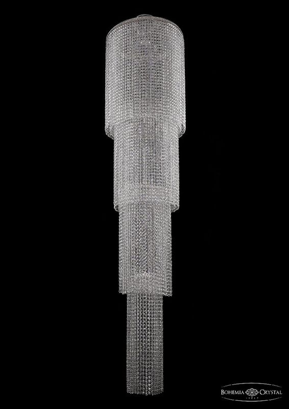 Потолочная люстра Bohemia Ivele Crystal 2131/50-210 Ni