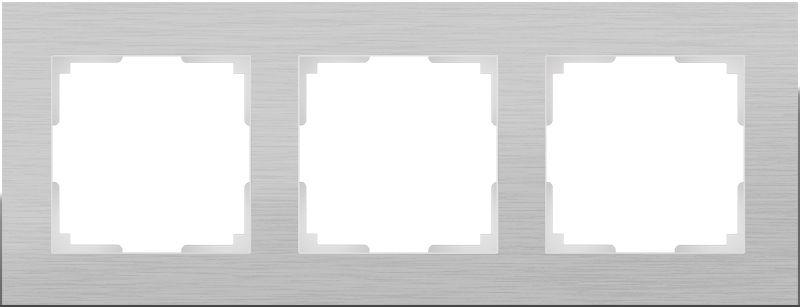 Рамкана3поста(алюминий) W0031706
