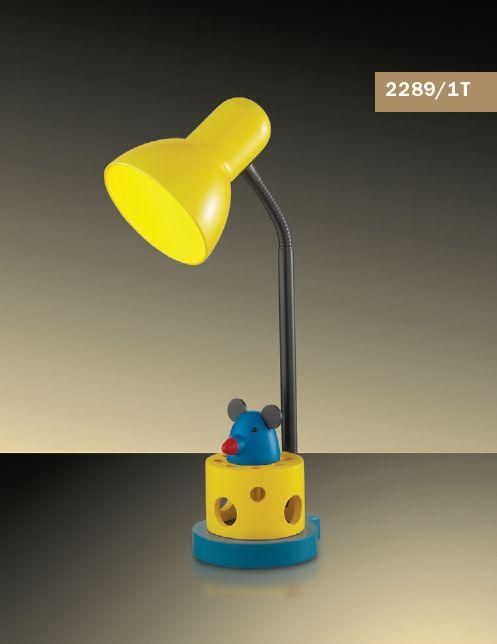 Детская настольная лампа Odeon Light Miki 2289/1T
