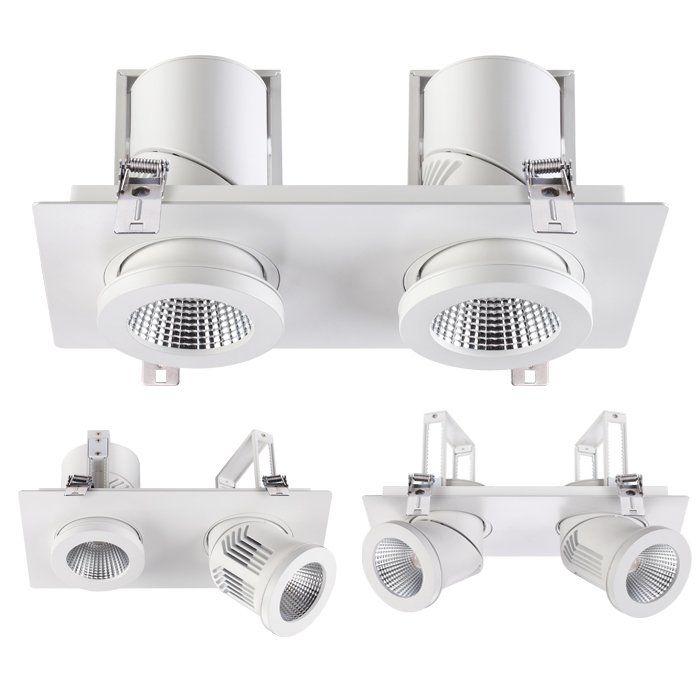Встраиваемый светодиодный светильник NovoTech Prometa 357874