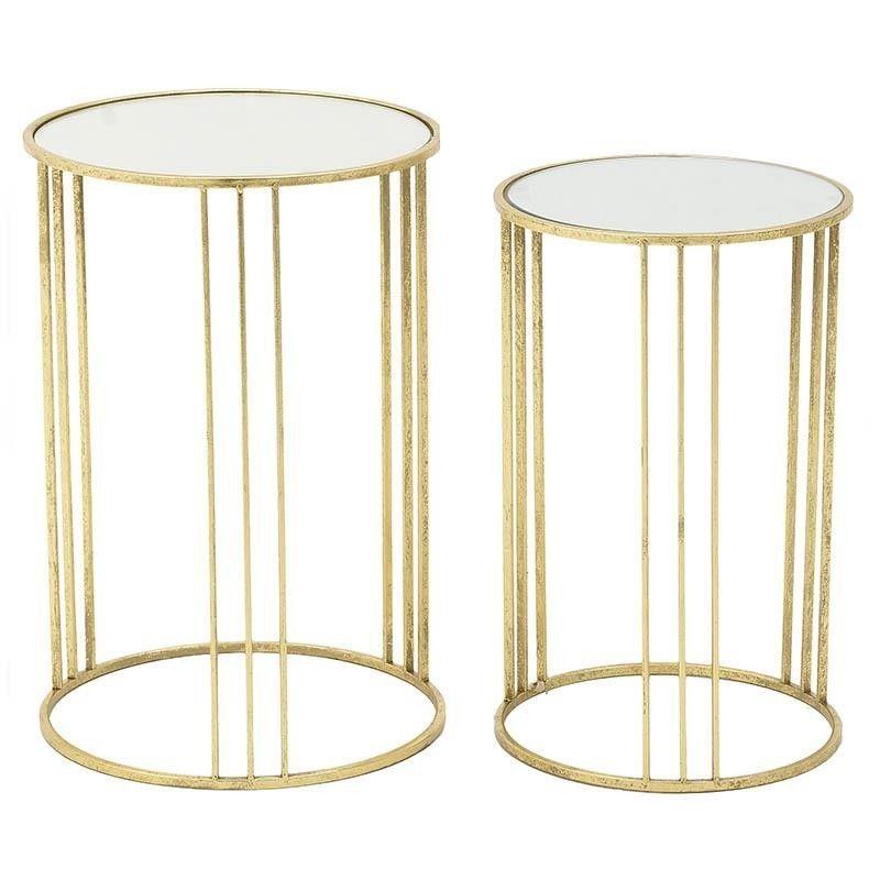 Набор столов (2 шт) To4rooms Gold Heart BD-345623