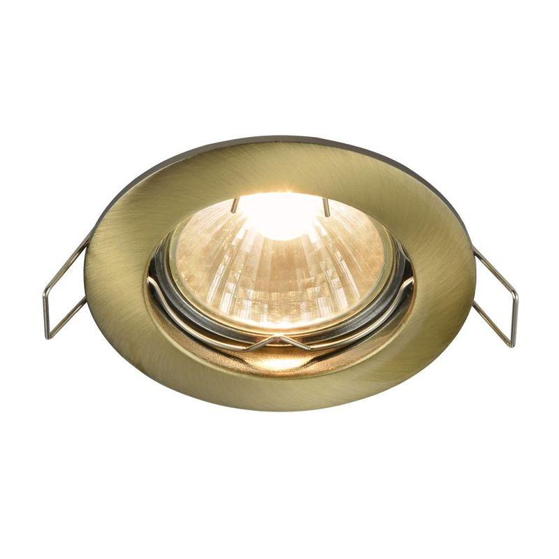 Встраиваемый светильник Metal DL009-2-01-BZ